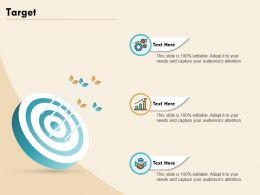 Target Audiences Attention Adapt Ppt Powerpoint Presentation Visual Aids Infographic Template