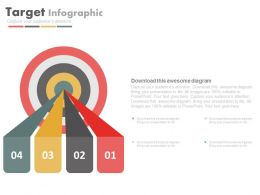 75480236 Style Essentials 2 Our Goals 4 Piece Powerpoint Presentation Diagram Infographic Slide