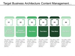 target_business_architecture_content_management_office_productivity_saas_customer_Slide01