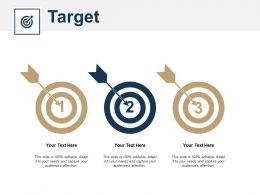 Target Business Management Marketing Ppt Powerpoint Presentation Model Example Introduction