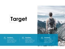 Target Business Management Ppt Powerpoint Presentation Styles Styles