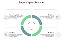 Target Capital Structure Ppt Powerpoint Presentation Diagram Images Cpb