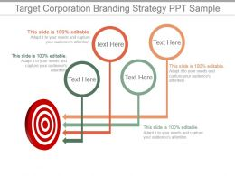 Target Corporation Branding Strategy Ppt Sample