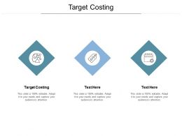 Target Costing Ppt Powerpoint Presentation Pictures Graphics Cpb