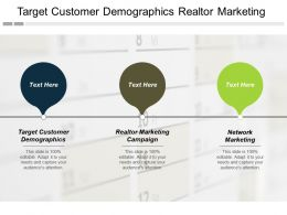 Target Customer Demographics Realtor Marketing Campaign Network Marketing Cpb