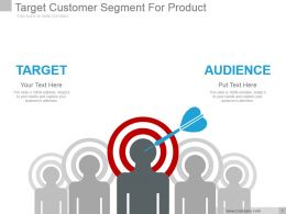 Target Customer Segment For Product Powerpoint Slide Rules