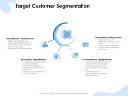 Target Customer Segmentation Geographic Ppt Summary Professional