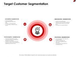 Target Customer Segmentation Psychographic Ppt Powerpoint Presentation Format Ideas