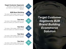 Target Customer Segments B2b Brand Building Ecommerce Solution Cpb