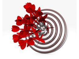 target_dart_with_bulls_eye_hit_by_multiple_red_arrows_stock_photo_Slide01