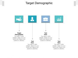 Target Demographic Ppt Powerpoint Presentation Show Smartart Cpb