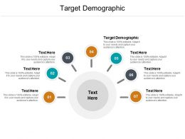 Target Demographic Ppt Powerpoint Presentation Slides Gallery Cpb