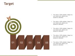 Target Example Of Ppt