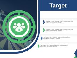 Target For Achievement Ppt Summary Demonstration
