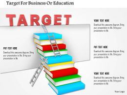 Target For Business Or Education Image Graphics For Powerpoint