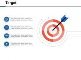 Target Goal Arrows Ppt Powerpoint Presentation Outline Diagrams