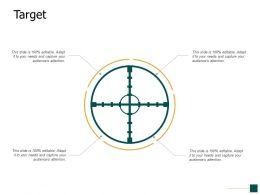 Target Goals Achievement F422 Ppt Powerpoint Presentation Pictures Templates