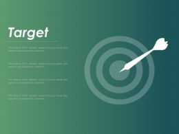 Target Goals Achievement F435 Ppt Powerpoint Presentation Infographics Brochure
