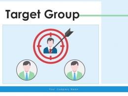 Target Group Demographic Product Representing Business Marketing