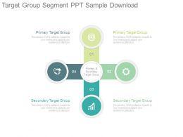 Target Group Segment Ppt Sample Download