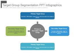 Target Group Segmentation Ppt Infographics