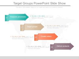 Target Groups Powerpoint Slide Show