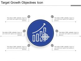 target_growth_objectives_icon_ppt_sample_file_Slide01