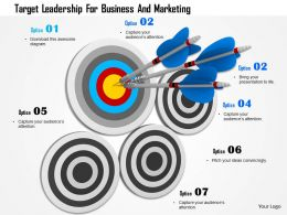 Target Leadership For Business And Marketing Image Graphics For Powerpoint