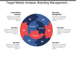 Target Market Analysis Branding Management Marketing Trends Development Plan