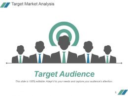 Target Market Analysis Powerpoint Slide Graphics