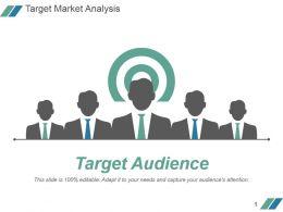 Target Market Analysis Powerpoint Slide Graphics