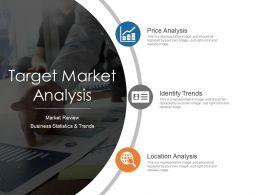 Target Market Analysis Ppt Examples Slides