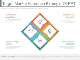 Target Market Approach Example Of Ppt