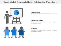 Target Market Community Banks Collaboration Promotion Professional Development