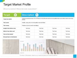 Target Market Profile Oily Skin Ppt Powerpoint Presentation Slides Template