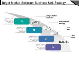 Target Market Selection Business Unit Strategy Customer Segmentation
