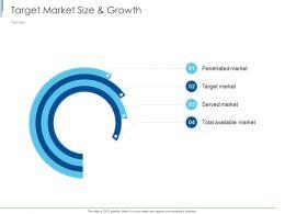 Target Market Size And Growth Ppt Powerpoint Presentation Portfolio Show