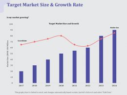 Target Market Size And Growth Rate Size Ppt Powerpoint Presentation Styles Good