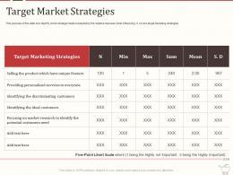 Target Market Strategies Retail Marketing Mix Ppt Powerpoint Presentation Demonstration