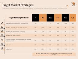 Target Market Strategies Retail Store Positioning And Marketing Strategies Ppt Slides