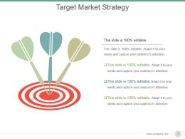 Target Market Strategy Powerpoint Slide Show