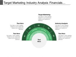 Target Marketing Industry Analysis Financials Analysis Delivery Use
