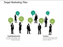Target Marketing Plan Ppt Powerpoint Presentation Infographic Template Display Cpb