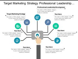 target_marketing_strategy_professional_leadership_development_financial_business_cpb_Slide01