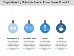 Target Marketing Substitute Product Power Buyers Powerful Supplier