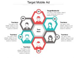 Target Mobile Ad Ppt Powerpoint Presentation Gallery Themes Cpb