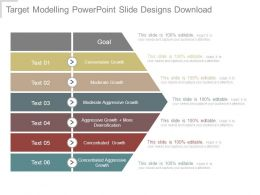Target Modelling Powerpoint Slide Designs Download