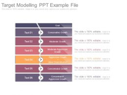 Target Modelling Ppt Example File