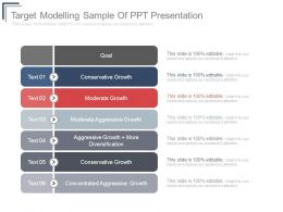 Target Modelling Sample Of Ppt Presentation