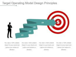 Target Operating Model Design Principles Powerpoint Slide Graphics